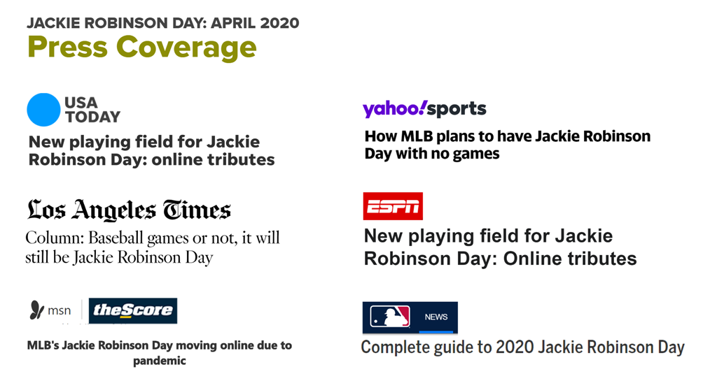 JR Day Press Coverage